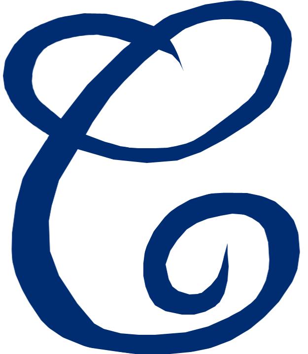 Cleveland Naps Logo Primary Logo (1905) - A cursive blue C SportsLogos.Net