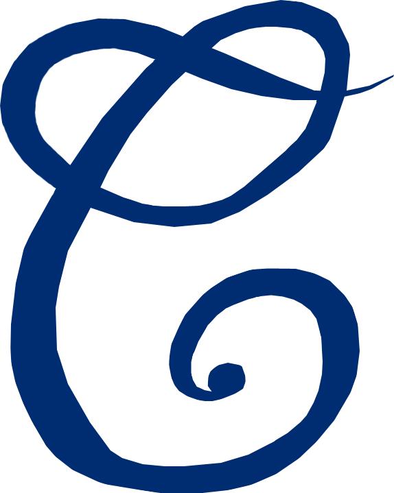 Cleveland Naps Logo Primary Logo (1906-1908) - A blue 'C' SportsLogos.Net