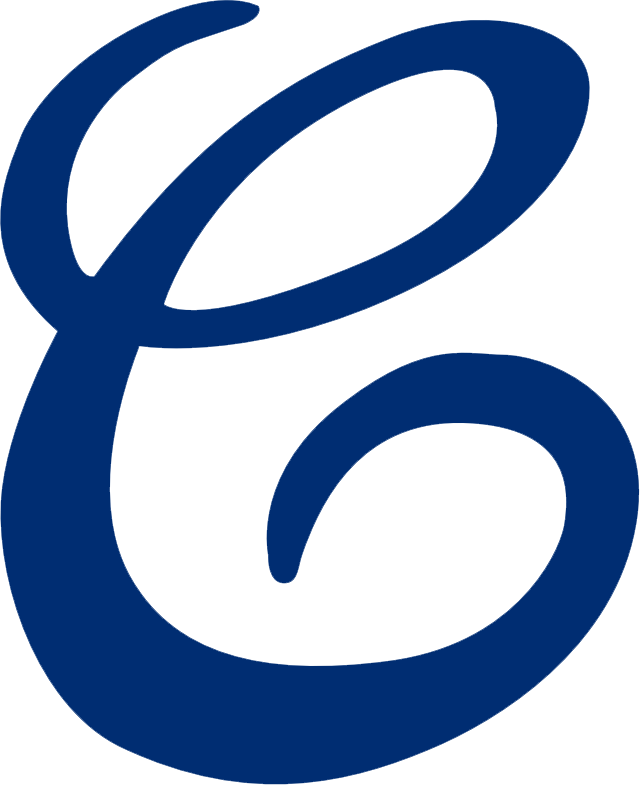 Cleveland Naps Logo Primary Logo (1909) - A blue 'C' SportsLogos.Net