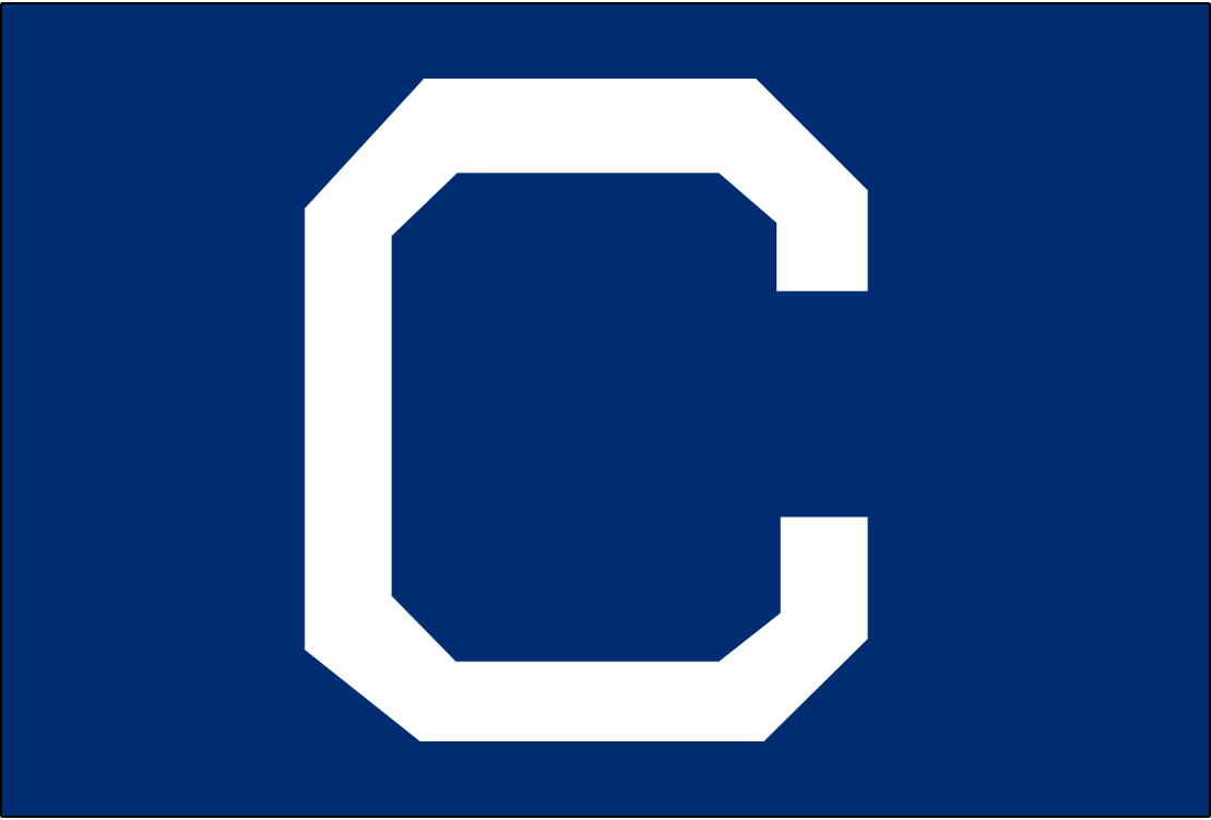 Cleveland Naps Logo Cap Logo (1910-1914) - A white C on blue, worn on the Naps home caps from 1910-1914 and their road caps from 1913-14 SportsLogos.Net
