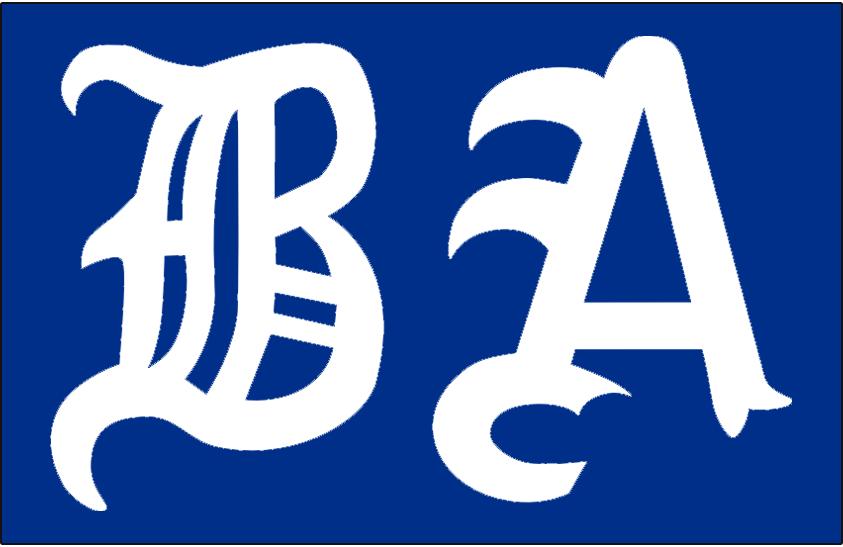 Boston Americans Logo Primary Dark Logo (1901-1907) -  SportsLogos.Net
