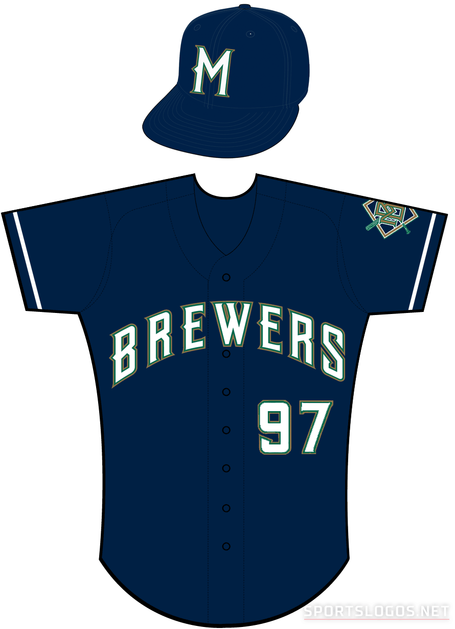 Milwaukee Brewers Uniform Alternate Uniform (1997) -  SportsLogos.Net