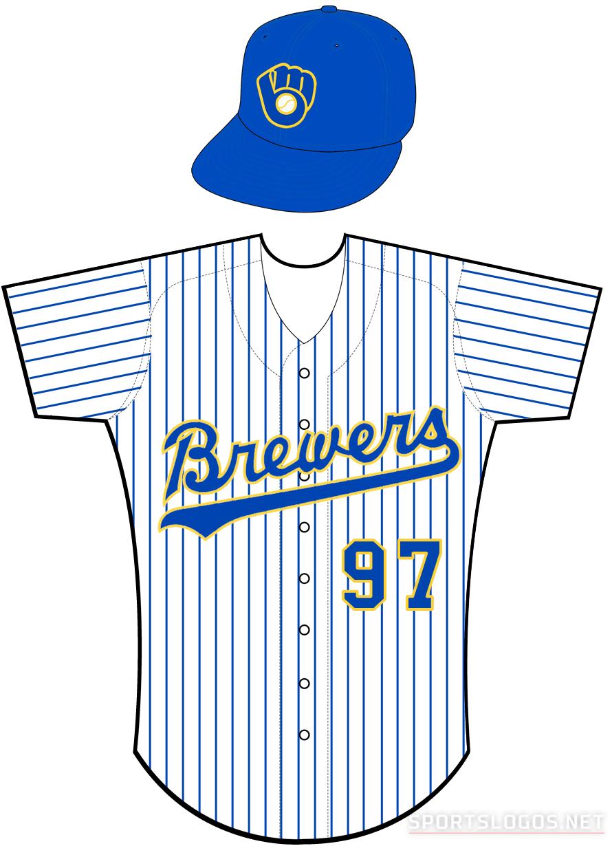 Milwaukee Brewers Uniform Home Uniform (1990-1993) -  SportsLogos.Net