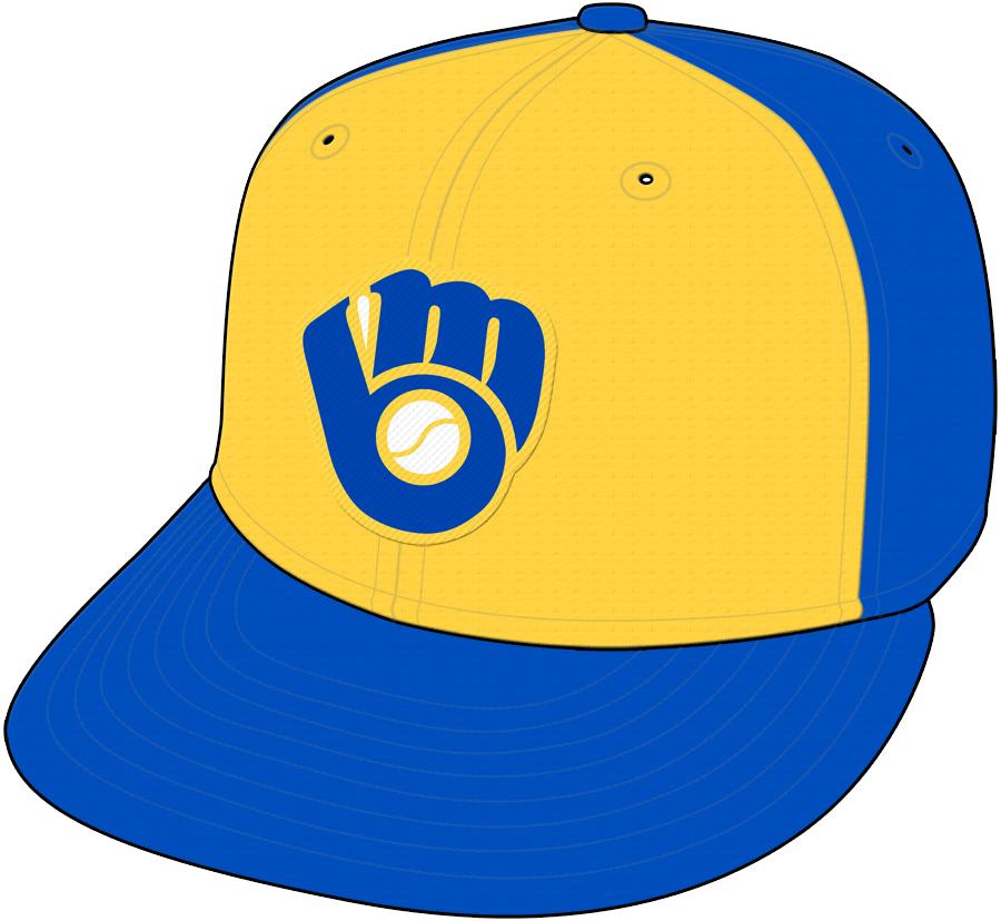Milwaukee Brewers Cap Cap (1978-1985) - Road Cap SportsLogos.Net