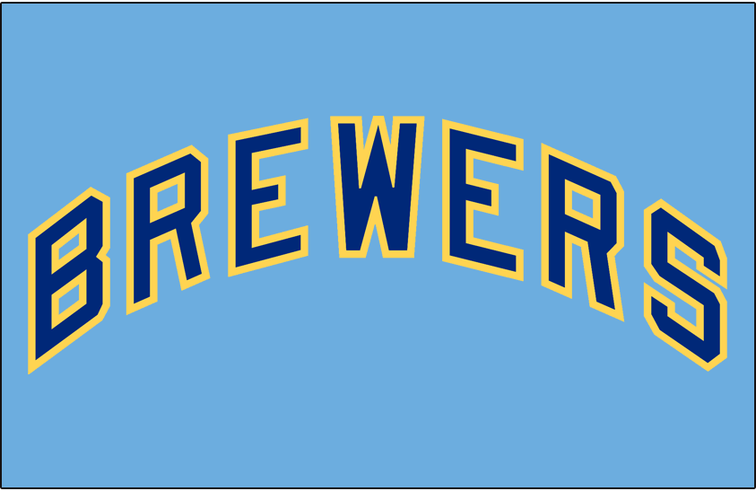 official photos 8d0f2 761b2 Milwaukee Brewers Jersey Logo - American League (AL) - Chris ...