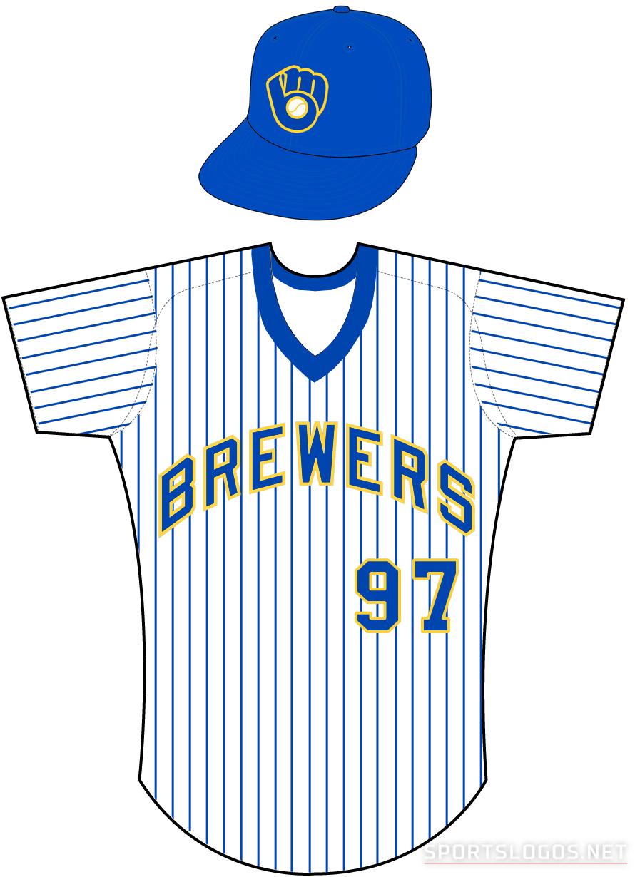 Milwaukee Brewers Uniform Home Uniform (1978-1989) -  SportsLogos.Net