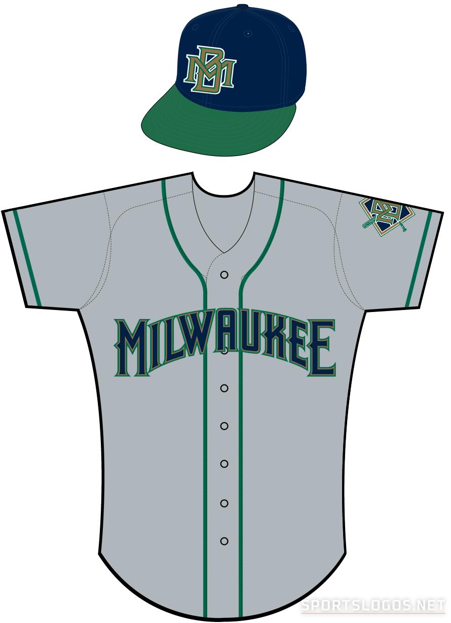 Milwaukee Brewers Uniform Road Uniform (1994-1996) -  SportsLogos.Net