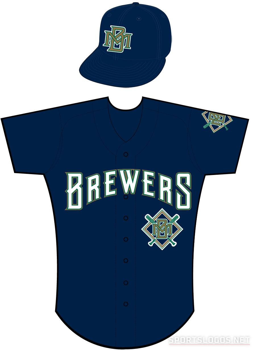 Milwaukee Brewers Uniform Alternate Uniform (1994-1996) -  SportsLogos.Net