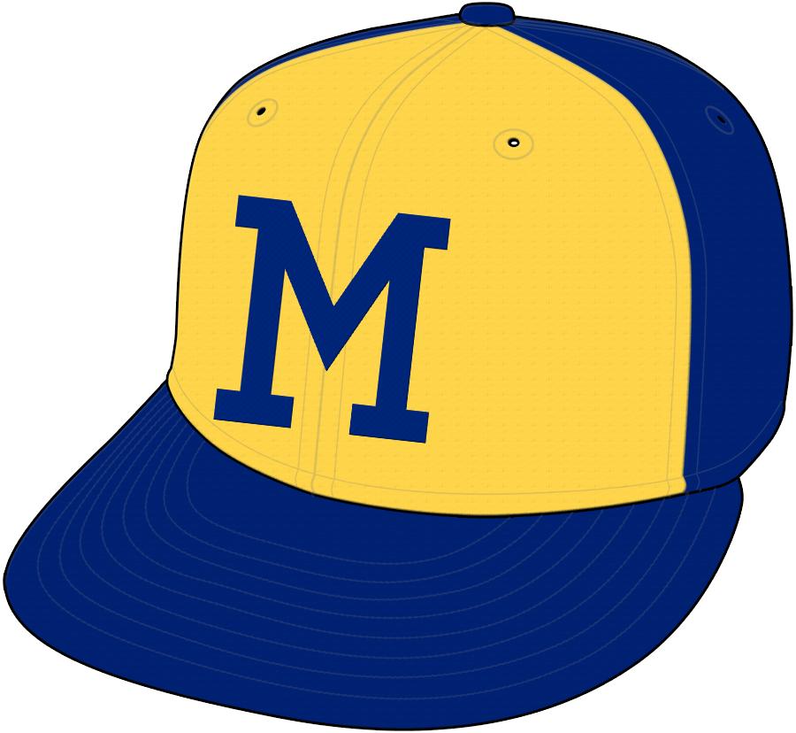 Milwaukee Brewers Cap Cap (1974-1977) - Road Cap SportsLogos.Net