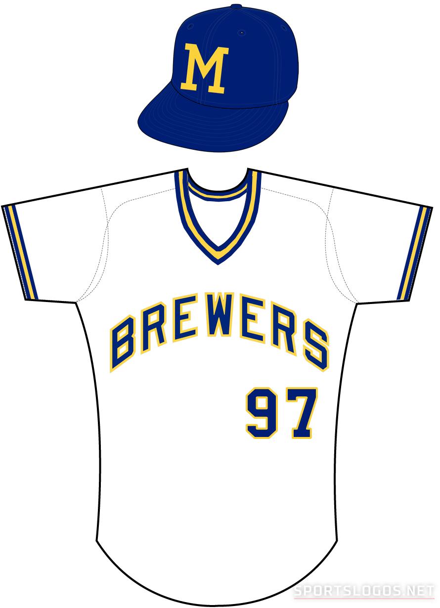 Milwaukee Brewers Uniform Home Uniform (1972-1977) -  SportsLogos.Net