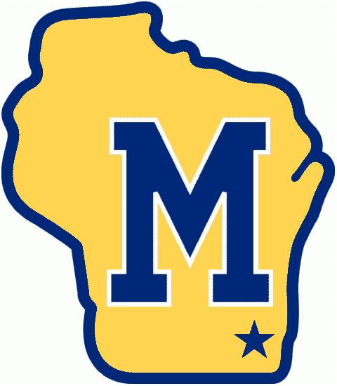 Milwaukee Brewers Logo Alternate Logo (1970-1981) - Blue block M on yellow Wisconsin SportsLogos.Net