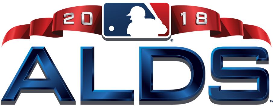 ALDS Logo Primary Logo (2018) - 2018 American League Division Series logo ALDS SportsLogos.Net
