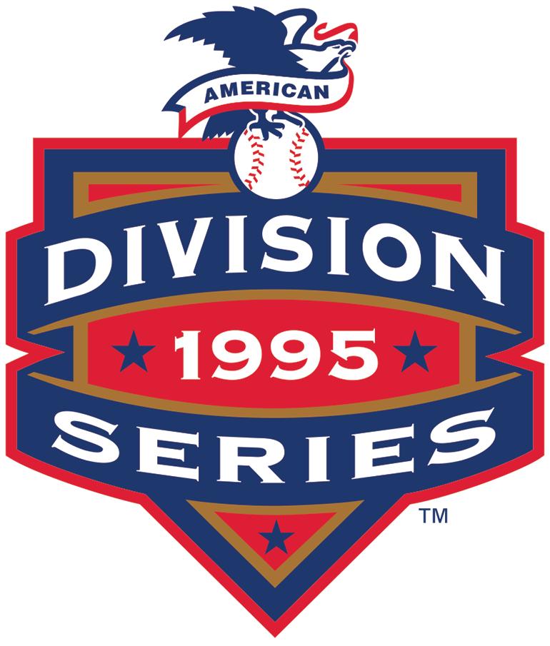ALDS Logo Primary Logo (1995) - Cleveland 3, Boston 0 / Seattle 3, New York Yankees 2 SportsLogos.Net