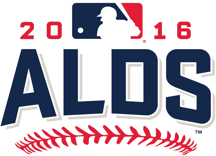 ALDS Logo Primary Logo (2016) - 2016 American League Division Series logo - Cleveland Indians sweep Boston Red Sox, Toronto Blue Jays sweep Texas Rangers SportsLogos.Net