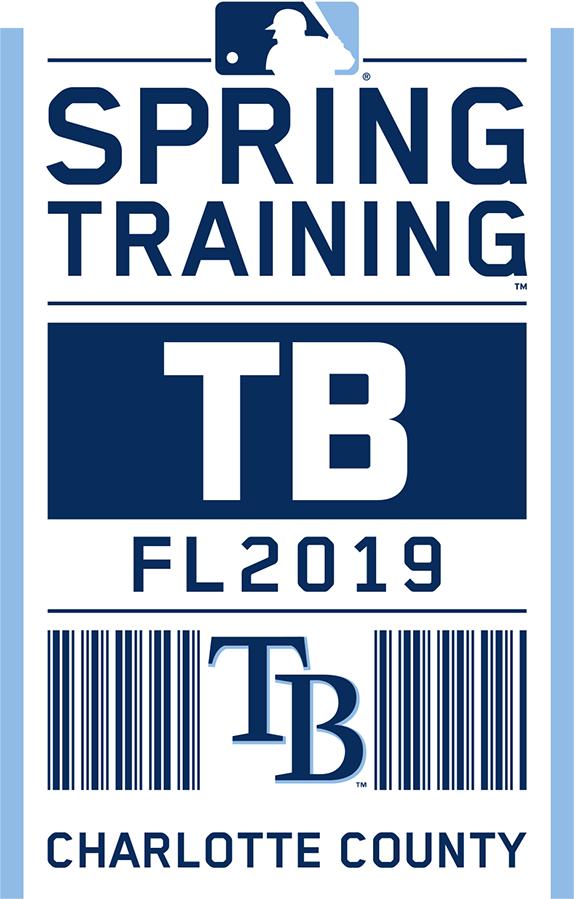 Tampa Bay Rays Logo Event Logo (2019) - Tampa Bay Rays 2019 Spring Training Logo SportsLogos.Net
