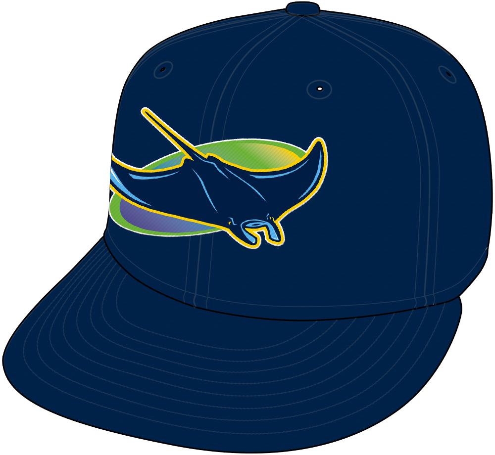 Tampa Bay Rays Cap Cap (2018-Pres) - Alternate 1998-style Devil Rays throwback cap SportsLogos.Net