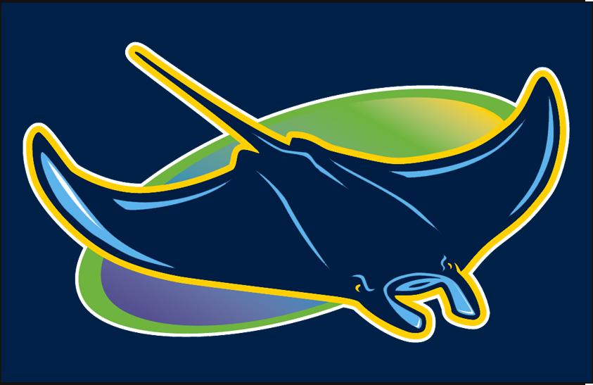 Tampa Bay Rays Cap Logo - American League (AL) - Chris ...