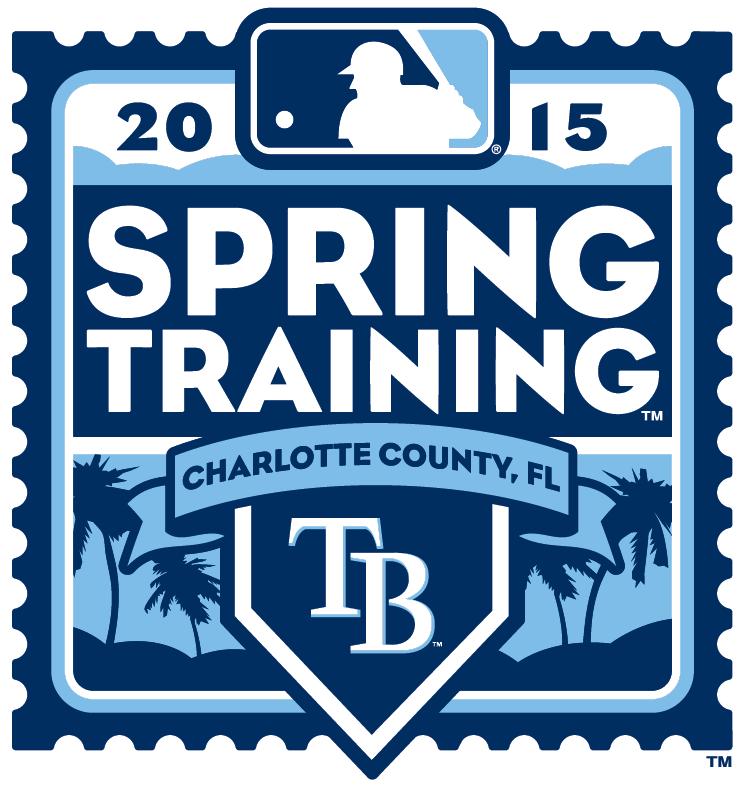 Tampa Bay Rays Logo Event Logo (2015) - 2015 Tampa Bay Rays Spring Training Logo SportsLogos.Net