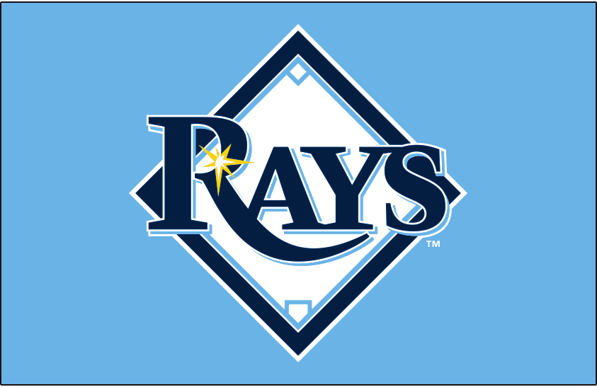 Tampa Bay Rays Primary Dark Logo - American League (AL ...