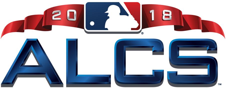 ALCS Logo Primary Logo (2018) - 2018 American League Championship Series logo ALCS SportsLogos.Net