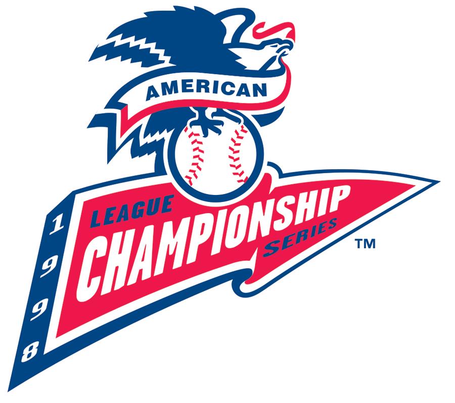 ALCS Logo Primary Logo (1998) - 1998 ALCS Logo SportsLogos.Net