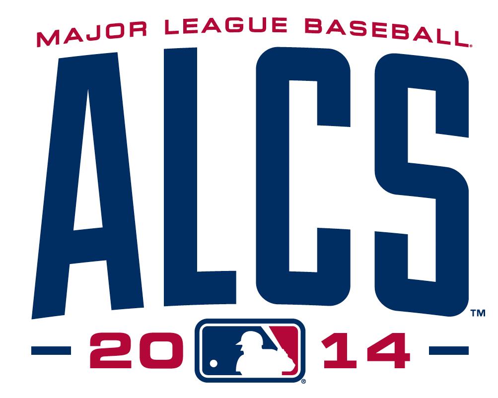 ALCS Logo Primary Logo (2014) - 2014 American League Championship Series (ALCS) Primary Logo SportsLogos.Net