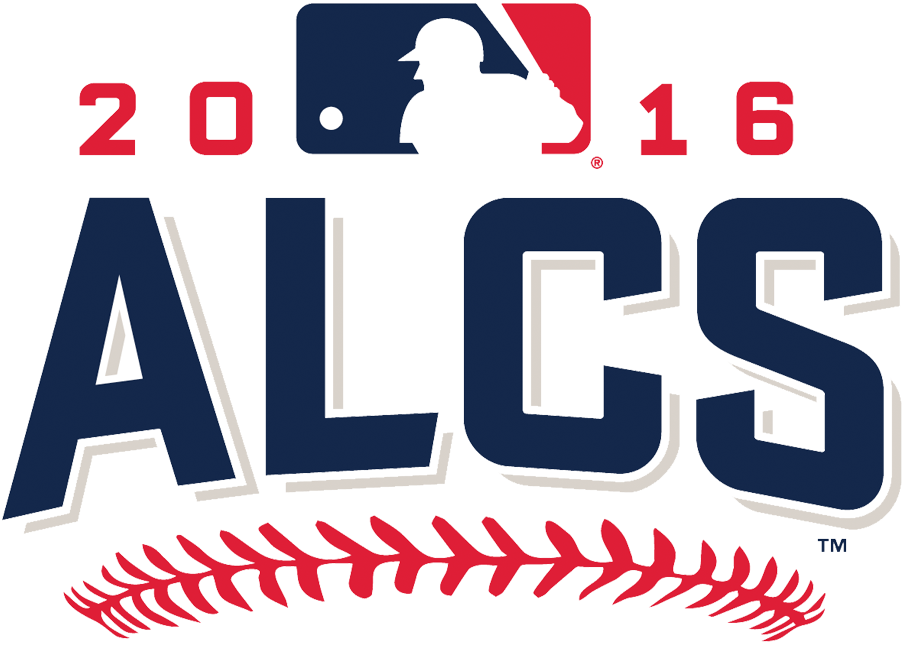 ALCS Logo Primary Logo (2016) - 2016 American League Championship Series logo - Cleveland Indians defeat Toronto Blue Jays in five games SportsLogos.Net