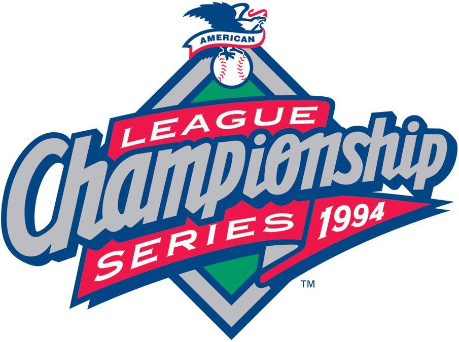 ALCS Logo Primary Logo (1994) - 1994 ALCS Logo SportsLogos.Net