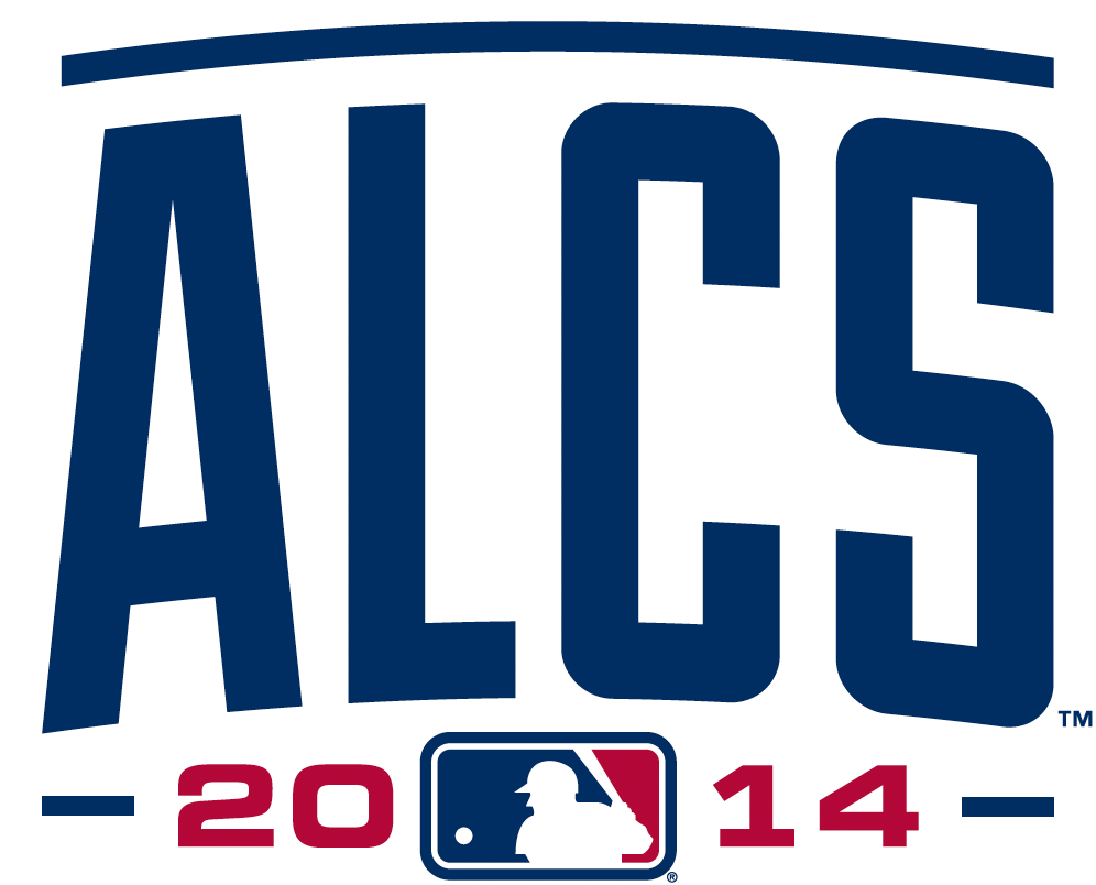 ALCS Logo Alternate Logo (2014) - 2014 American League Championship Series (ALCS) Alternate Logo SportsLogos.Net