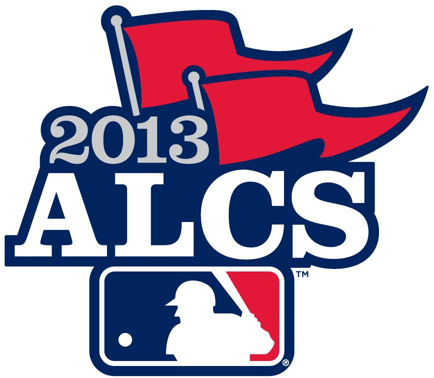 ALCS Logo Primary Logo (2013) - 2013 American League Championship Series - 2013 ALCS Primary Logo SportsLogos.Net