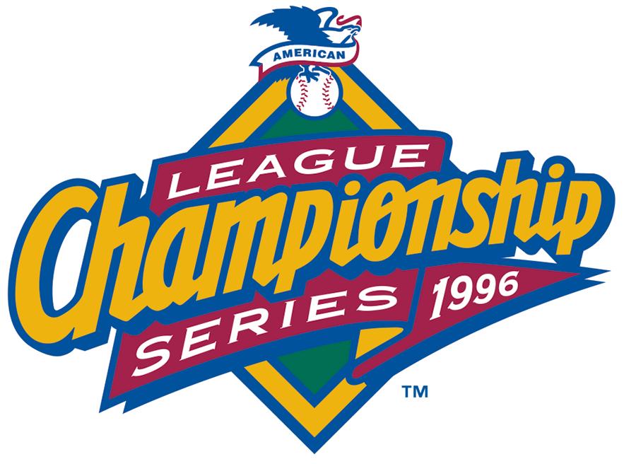 ALCS Logo Primary Logo (1996) - Championship Series - New York Yankees 4, Baltimore 1 SportsLogos.Net