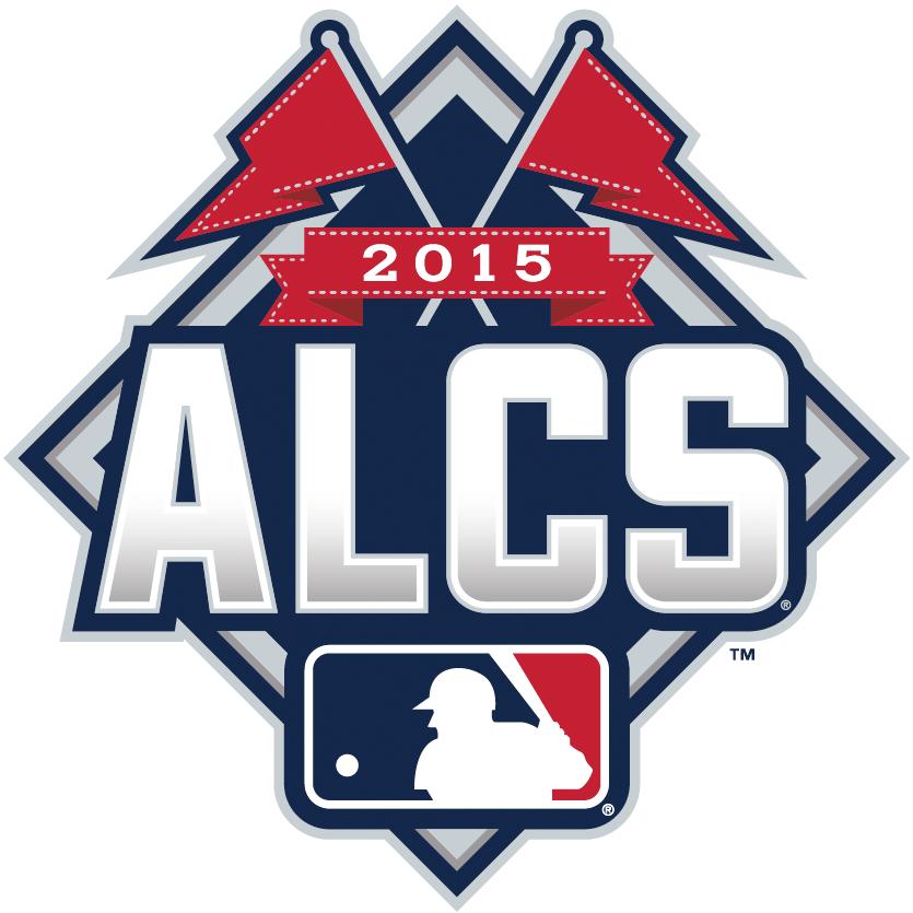 ALCS Logo Primary Logo (2015) - 2015 American League Championship Series Logo - 2015 ALCS Logo SportsLogos.Net