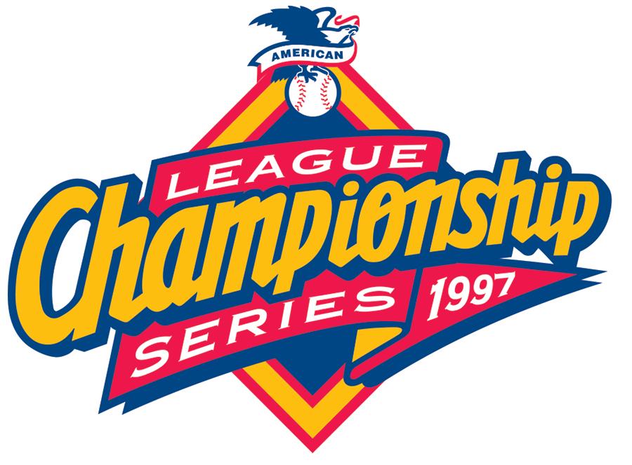 ALCS Logo Primary Logo (1997) - 1997 ALCS Logo SportsLogos.Net