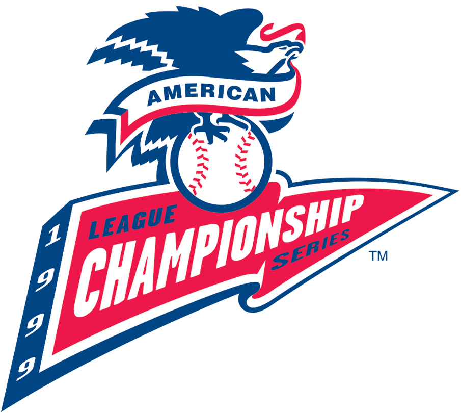 ALCS Logo Primary Logo (1999) - Championship Series - New York Yankees 4, Boston 1 SportsLogos.Net