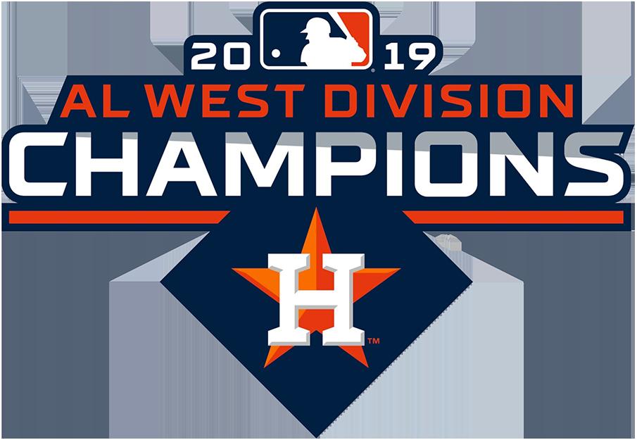 Houston Astros Logo Champion Logo (2019) - Houston Astros 2019 AL West Division Champions Logo SportsLogos.Net
