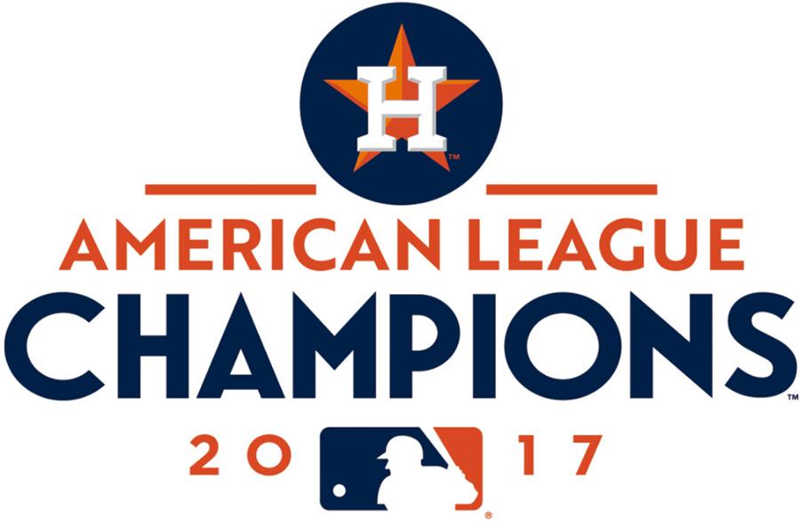 Houston Astros Logo Champion Logo (2017) - Houston Astros 2017 American League Champions logo SportsLogos.Net