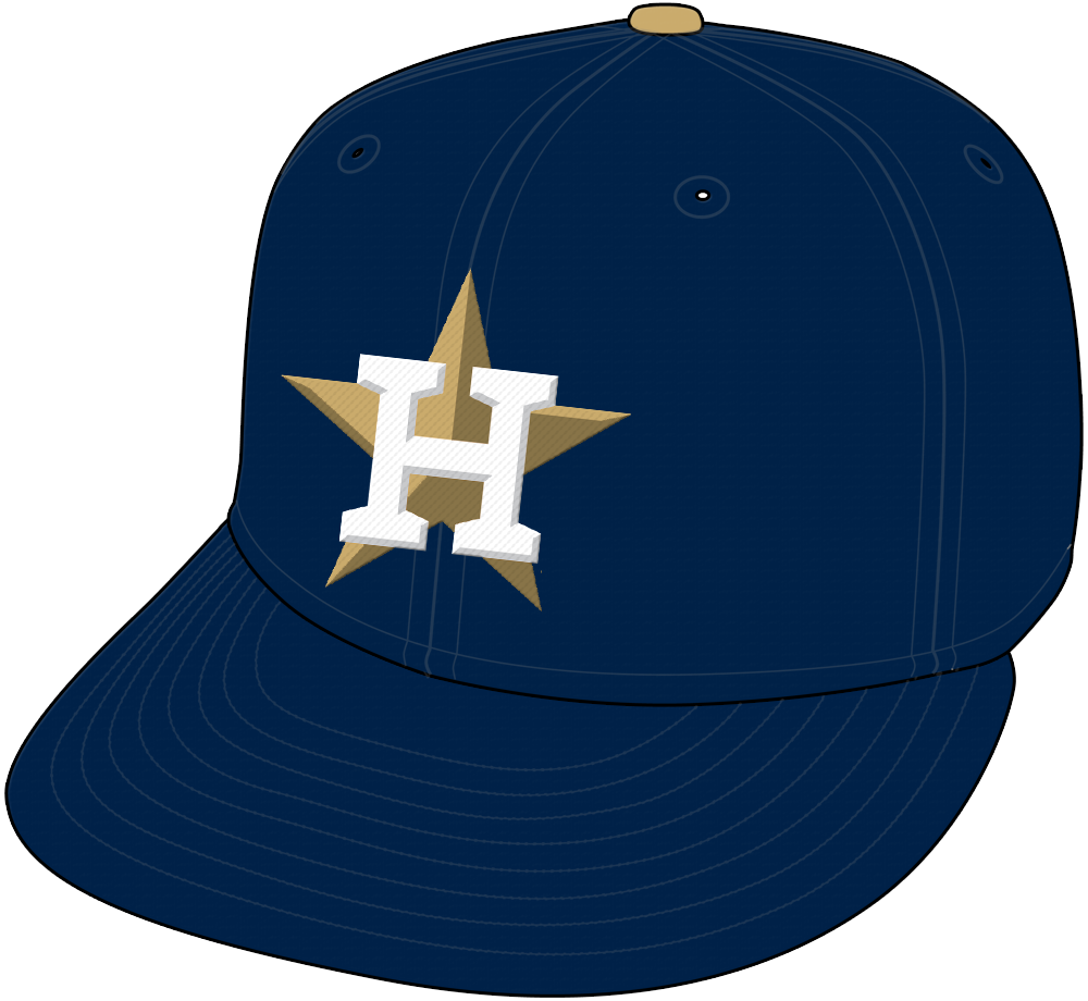 Houston Astros Uniform Special Event Uniform (2018) - Houston Astros Gold cap worn for two games in 2018 to celebrate their 2017 World Series Championship SportsLogos.Net
