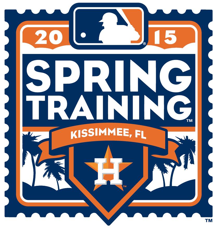 Houston Astros Logo Event Logo (2015) - 2015 Houston Astros Spring Training Logo SportsLogos.Net