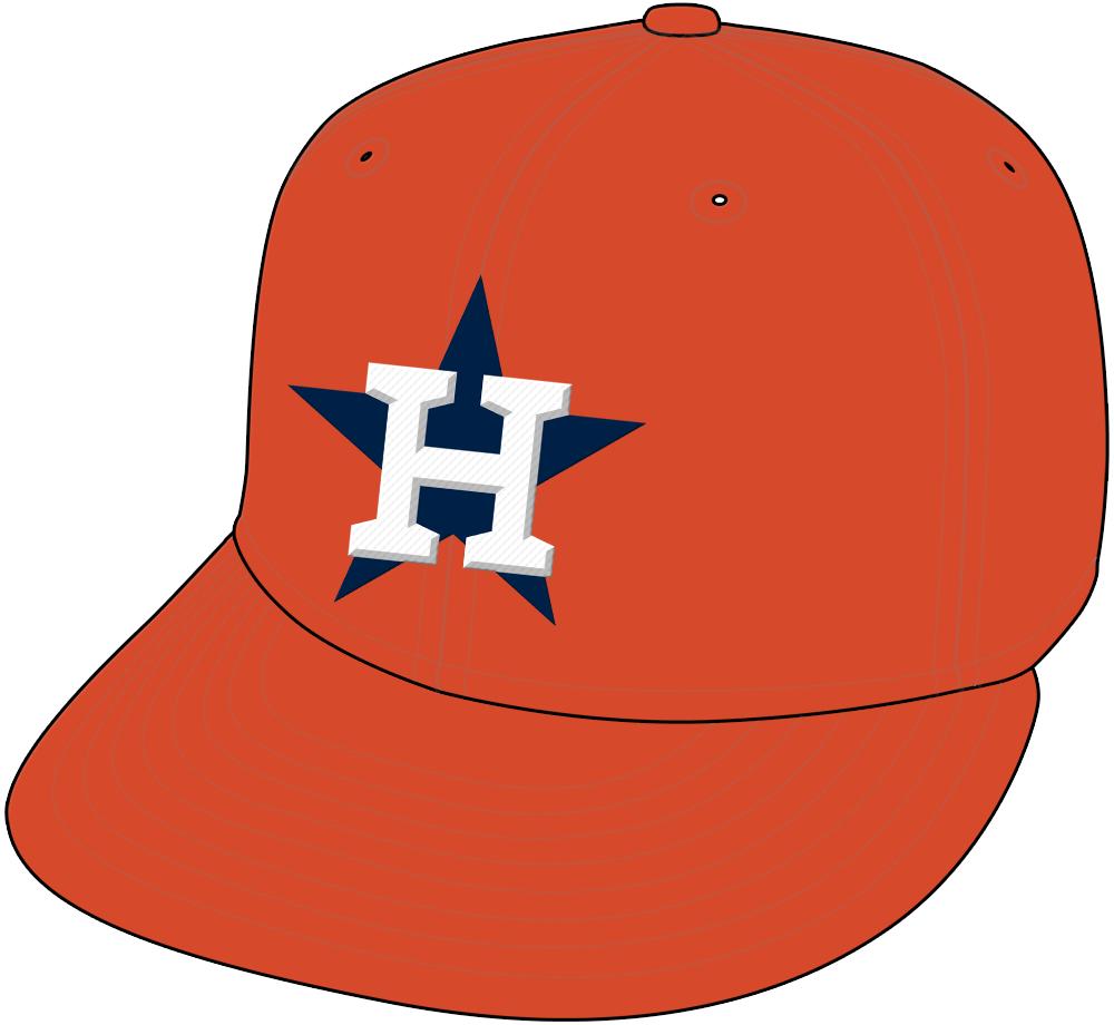 Houston Astros Cap Cap (2013) - Alternate Home Cap. SportsLogos.Net