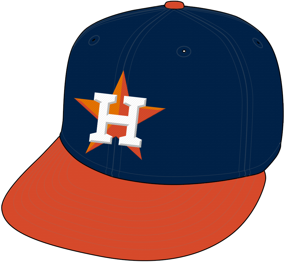 Houston Astros Cap Cap (2013-Pres) - Road Cap. SportsLogos.Net