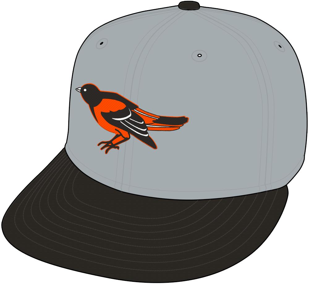 Baltimore Orioles Cap Cap (1995-1996) -  SportsLogos.Net