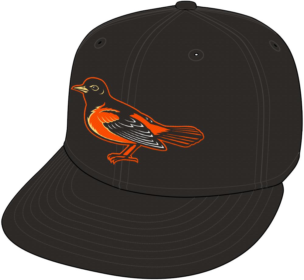 Baltimore Orioles Cap Cap (1998) -  SportsLogos.Net