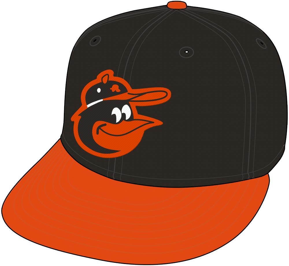 Baltimore Orioles Cap Cap (1966-1974) -  SportsLogos.Net