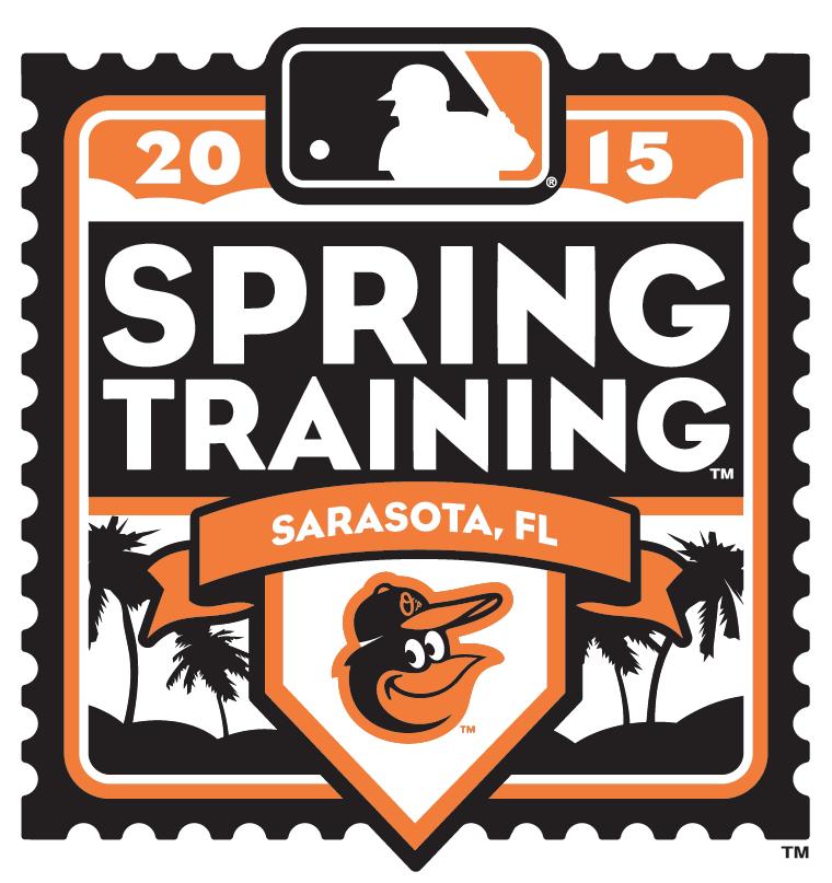 Baltimore Orioles Logo Event Logo (2015) - 2015 Baltimore Orioles Spring Training Logo SportsLogos.Net