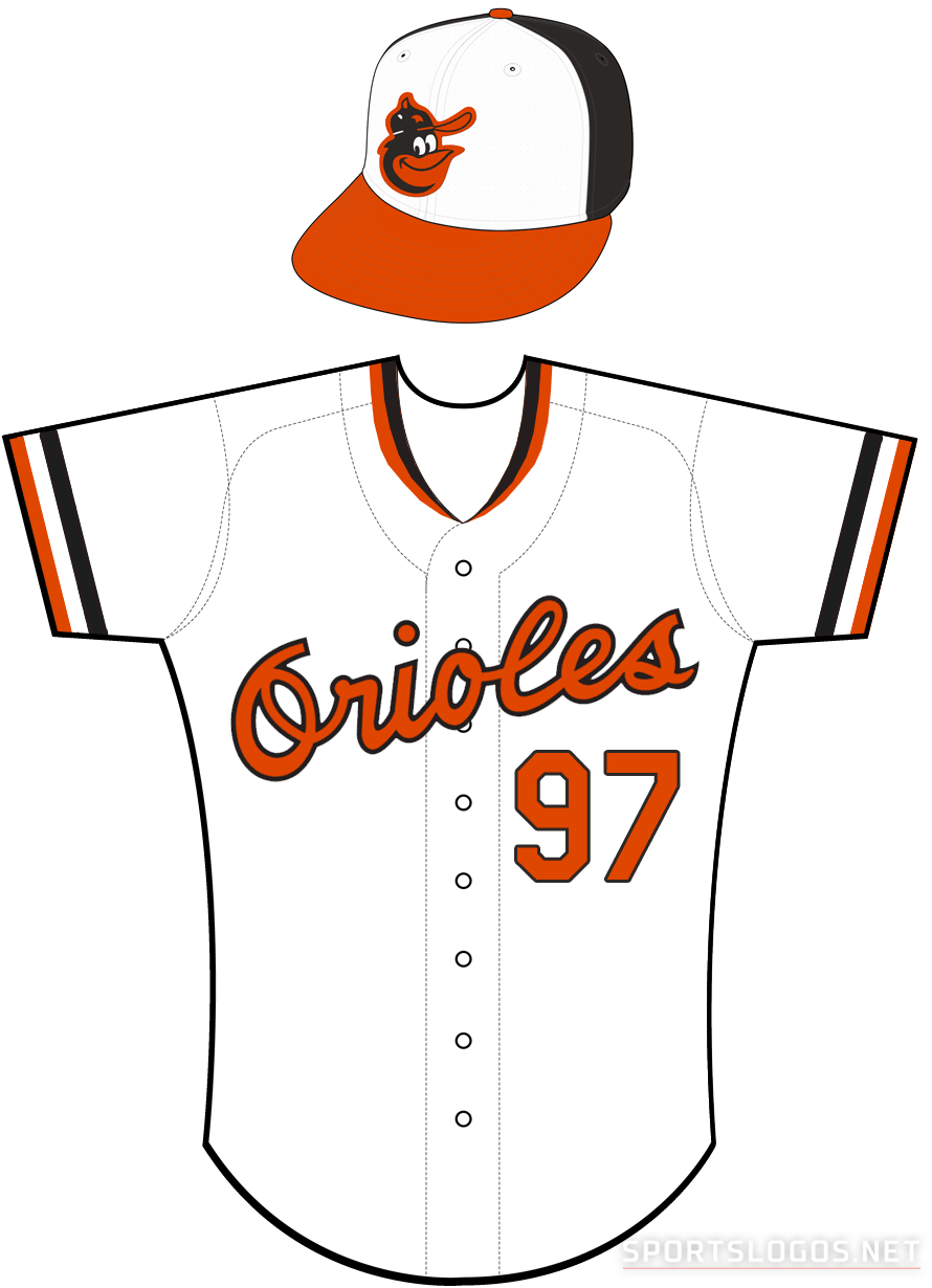 Baltimore Orioles Uniform Home Uniform (1979-1988) -  SportsLogos.Net