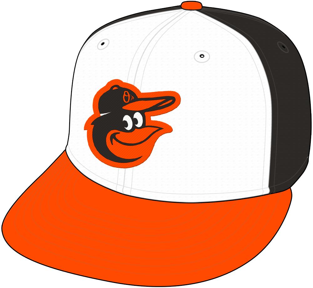 Baltimore Orioles Cap Cap (2012-Pres) - Home Only SportsLogos.Net