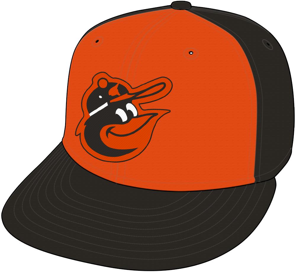 Baltimore Orioles Cap Cap (1975-1976) -  SportsLogos.Net