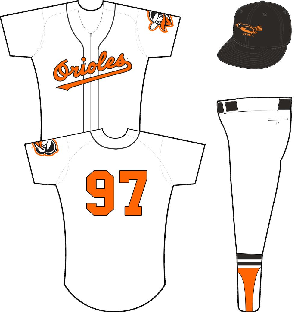 timeless design 2843c a9fad orioles uniform numbers
