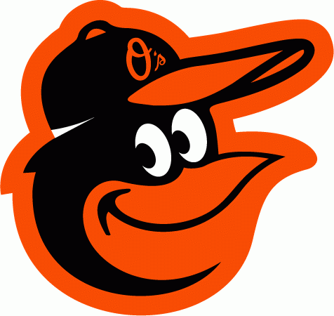 Baltimore Orioles Logo Primary Logo (2019-Pres) - Cartoon oriole head, used previously as the cap and alternate logo from 2012-2018, promoted to primary Orioles logo for 2019 SportsLogos.Net