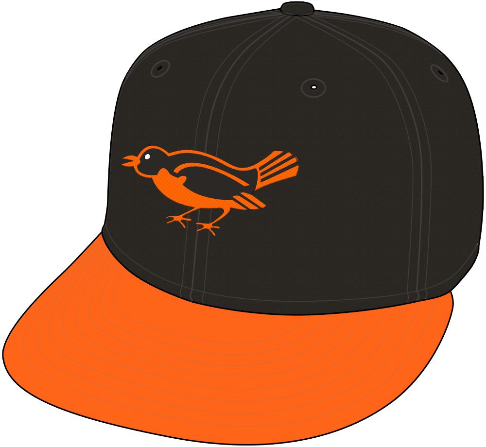 Baltimore Orioles Cap Cap (1954-1963) -  SportsLogos.Net